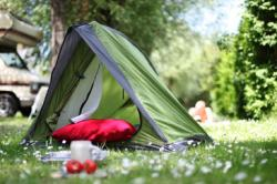 Emplacements tente camping limousin